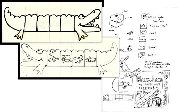 kroko loko spel ontwerp
